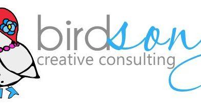 BirdSong Custom Bird Logo Design